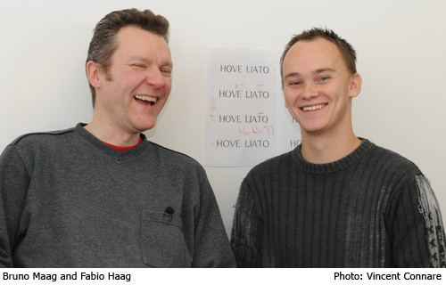 Bruno Maag and Fabio Haag